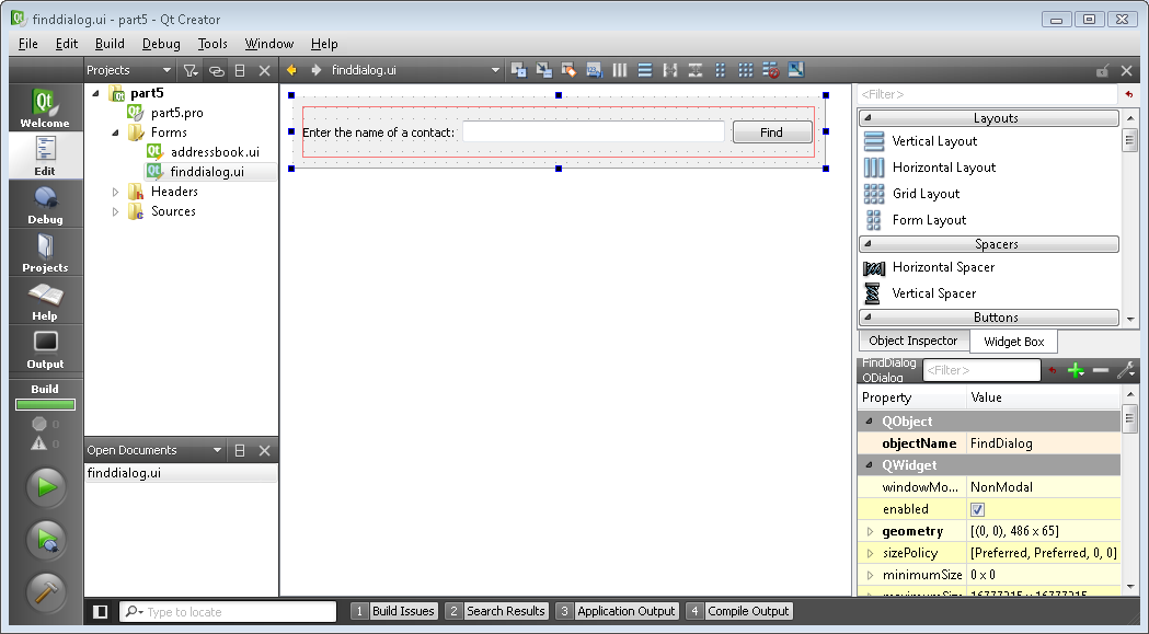 doc/images/addressbook-tutorial-part5-finddialog-in-designer.png