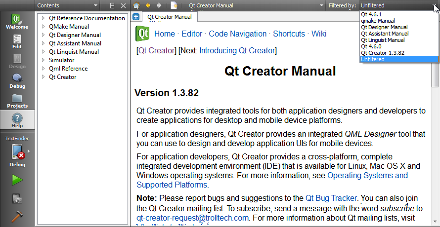 doc/images/qtcreator-help-filters.png